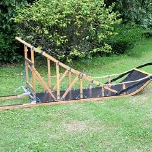 Traineau bois 2 mètres