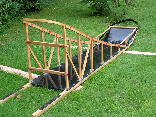 traineau bois 3 mètres