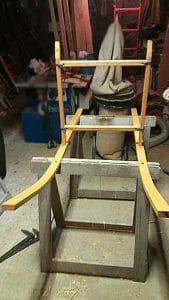 Fabrication traineau étape 02