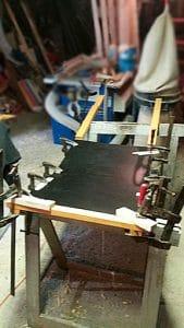 Fabrication traineau étape 05