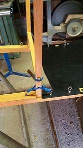 Fabrication traineau étape 06