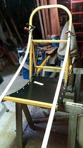 Fabrication traineau étape 09