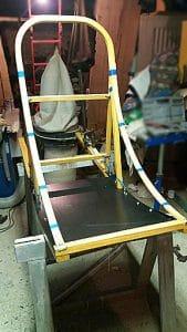 Fabrication traineau étape 10