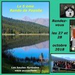 Nouvelle  édition Rando de Payolle le 27 et 28 octobre 2018